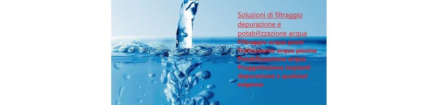 Filtraggio e depurazione acqua
